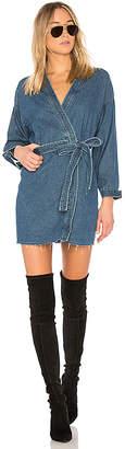 GRLFRND Kate Robe Mini Dress