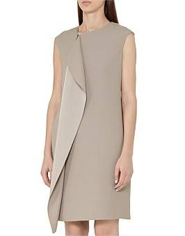 Reiss Cora-Shift Dress With Fro
