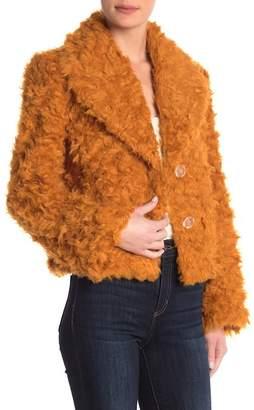 Cinq à Sept Georgia Faux Fur Jacket
