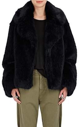 Nili Lotan Women's Sedella Faux Mink Fur Coat