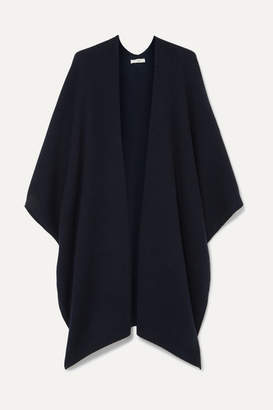 The Row Hern Cashmere Cape - Navy