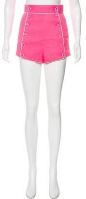 Olympia Le-Tan High-Rise Mini Shorts w/ Tags