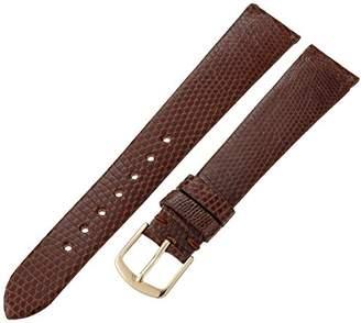 Hadley-Roma Men's MSM700RB-170 17-mm Genuine Lizard Leather Watch Strap