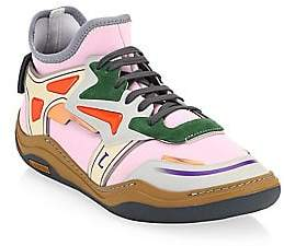 Lanvin Men's Woven Multi-Color Trainers