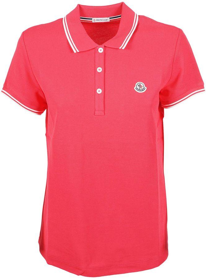 MonclerMoncler Embroidered Logo Polo Shirt