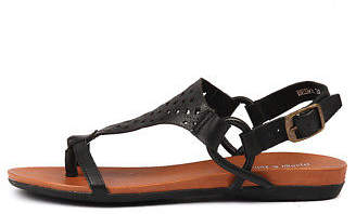 Django & Juliette New Besha Womens Shoes Casual Sandals Sandals Flat
