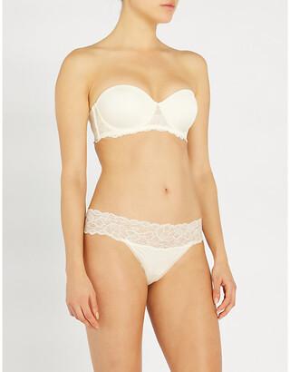 Calvin Klein Seductive Comfort strapless lace bra