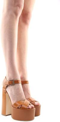 Laurence Dacade Rosella Leather Platform Sandals
