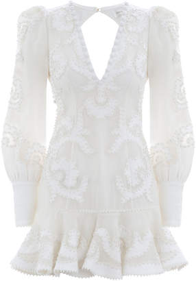 Zimmermann Radiate Applique Flip Dress