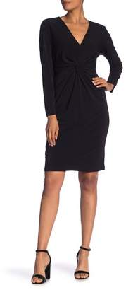 Ronni Nicole Solid Knot Dress