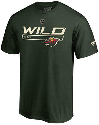 Majestic Men Minnesota Wild Rinkside Prime T-Shirt