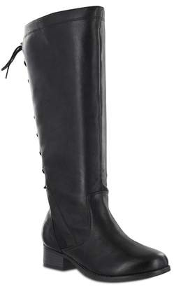 MIA AMORE Lilianaa Back Lace-Up Tall Boot - Wide Width Available