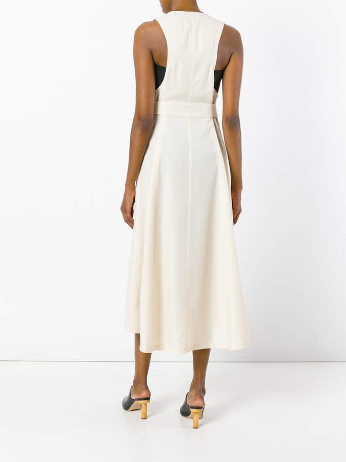 Lemaire belted detail zipped dress