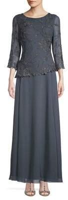 J Kara Beaded Gown