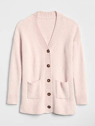 Gap Chenille Cardigan Sweater
