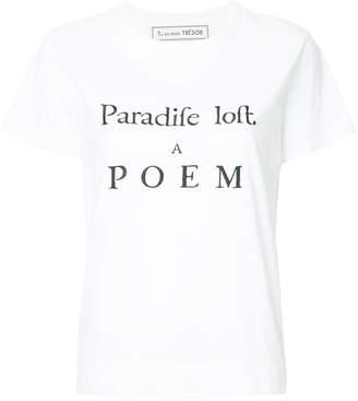 LOFT Tu Es Mon Trésor Paradife T-shirt