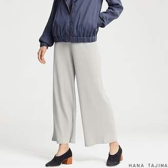 Uniqlo Women's Ribbed Wide Pants (hana Tajima)