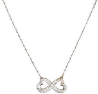 Tiffany & Co. Diamond Loving Heart Pendant Necklace $1,025 thestylecure.com