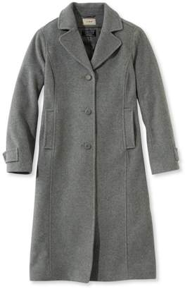 L.L. Bean L.L.Bean Classic Lambswool Polo Coat, Long