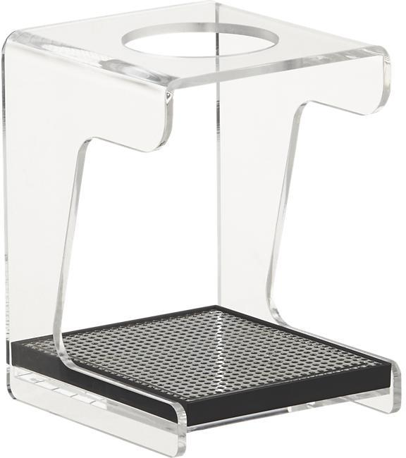 Crate & Barrel Hario V60 Acrylic Coffee Drip Stand with Tray