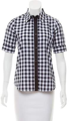 Tanya Taylor Sally Gingham Top w/ Tags