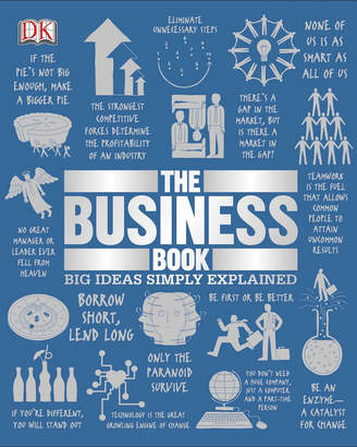 Penguin Random House The Business Book (Big Ideas Simply Explained) By Dk Publishing