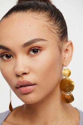 Serefina Shimmer Coin Earrings