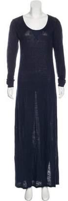Creatures of Comfort Long Sleeve Maxi Dress Navy Long Sleeve Maxi Dress