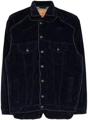 Y/Project piped denim jacket