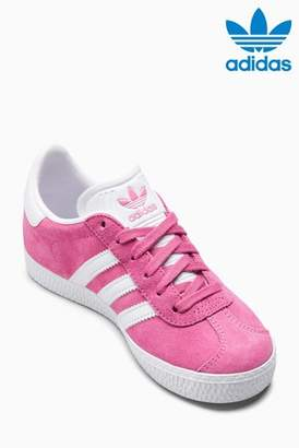 Next Girls adidas Originals Pink Gazelle