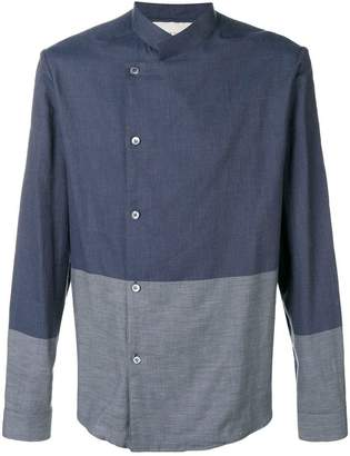 Stephan Schneider bi-coulored shirt