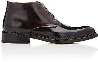 Fratelli Giacometti Men's Burnished Leather Chukka Boots