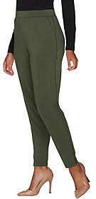 Halston H by Petite Jet Set Jersey AnkleJogger Pants