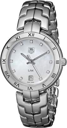 Tag Heuer Women's WAT1315.BA0956 Link Analog Display Quartz Silver Watch