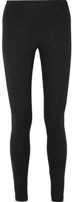 Wolford Baily Metallic Stretch-jersey Leggings - Black