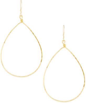 Panacea Golden Teardrop Earrings