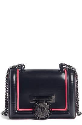 Balmain Baby Box Leather Shoulder Bag