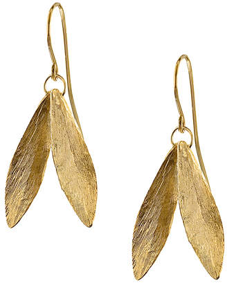 Catherine Zoraida Double Leaf Earrings
