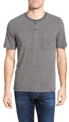 1901 Pique Cotton Blend Henley