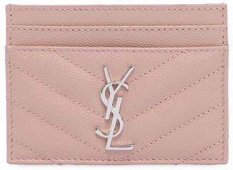 Monogram Quilted Leather Card Holder $250 thestylecure.com
