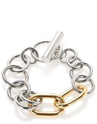 Alexander Wang Mixed Metal Toggle Bracelet
