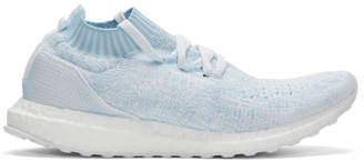 adidas Blue UltraBOOST Uncaged Parley Slip-On Sneakers
