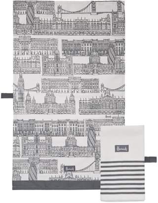 Harrods Brompton Tea Towels (Set of 2)