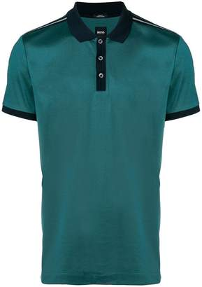HUGO BOSS jersey polo shirt