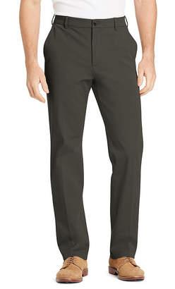 Izod Advantage Performance 4-Way Sportflex Comfort Chino Mens Straight Fit Flat Front Pant
