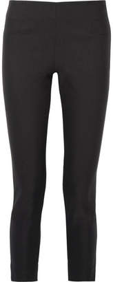 Lela Rose - Stretch-twill Skinny Pants - Black $695 thestylecure.com