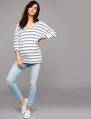 Mother Secret Fit Belly Looker Ankle Maternity Jeans