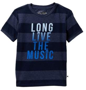 Lucky Brand Long Live The Music Short Sleeve Graphic Tee (Little Boys)
