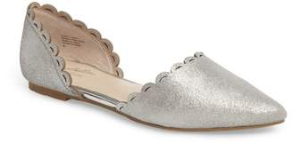 Seychelles Research Pointy Toe d'Orsay Flat