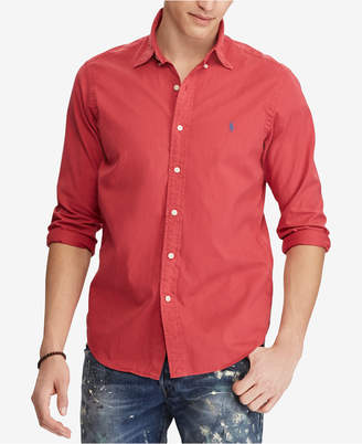 Polo Ralph Lauren Men Slim Fit Oxford Cotton Shirt